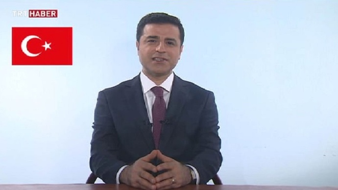 SEÇİM - Demirtaş 2'nci kez TRT'de
