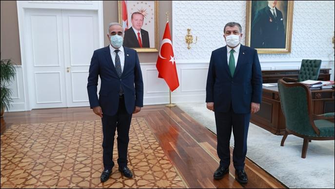 Şehir Hastanesi İçin Ankara'da Sürpriz Görüşme!