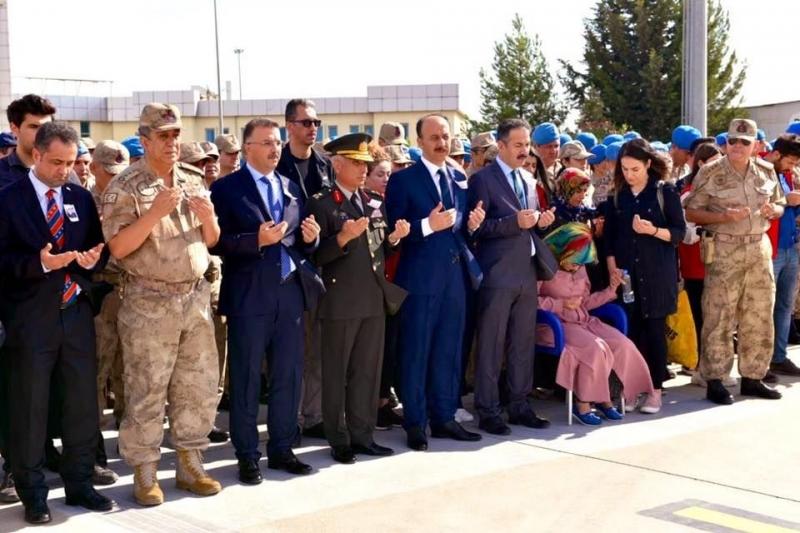 Şehit asker, memleketi Tokat'a uğurlandı