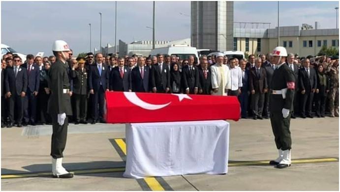 Şehit Caner Selimoğlu'nun Naaşı Memleketine Gönderildi