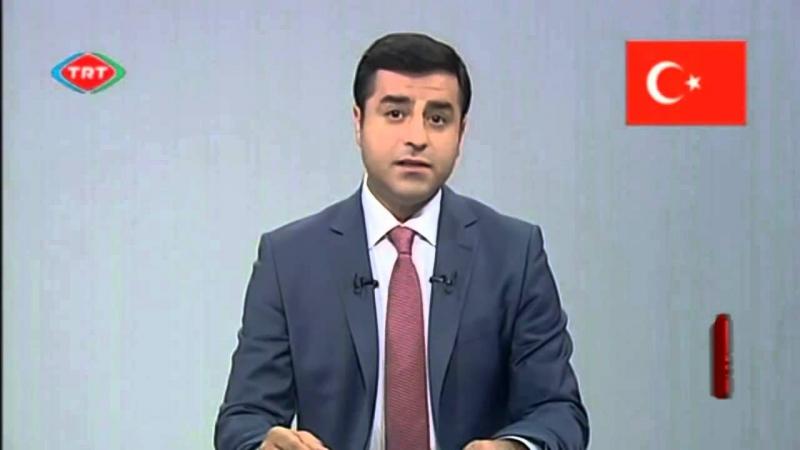 Selahattin Demirtaş'ın TRT konuşması çekildi