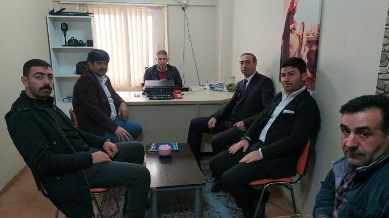 Şeyhanlılar Federasyonu'ndan RHA Ajans'a ziyaret