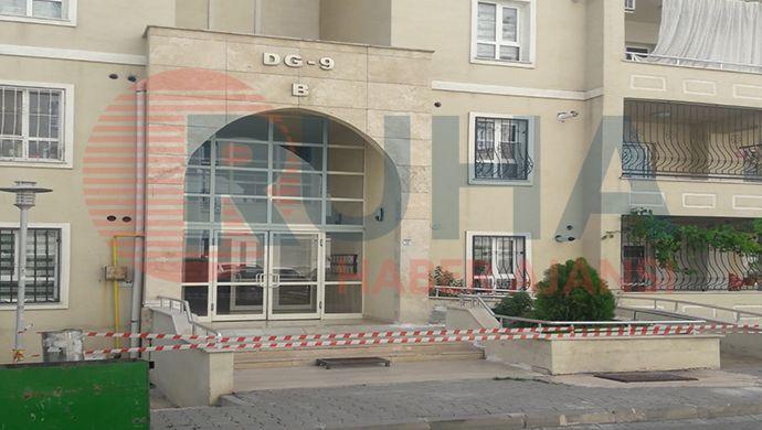 Seyrantepe Maşuk'ta bir bina karantinaya alındı!
