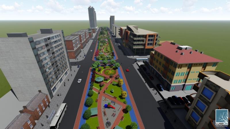 Seyrantepe'ye 30 Bin Metrekarelik Dev Yeşil Alan Yatırımı