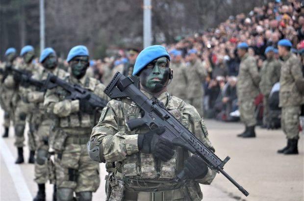 Sınıra komandı birlikleri sevk edildi