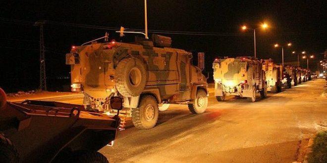 Sınırdaki ilçelere askeri sevkiyat sürüyor