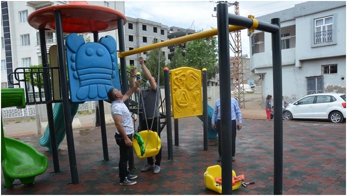 Şirinkuyu Parkı mahalle sakinlerinin hizmetine açıldı