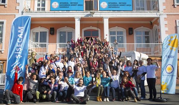 Şişecam Gönüllülerinden 'Çocuk Hakları Şenliği'