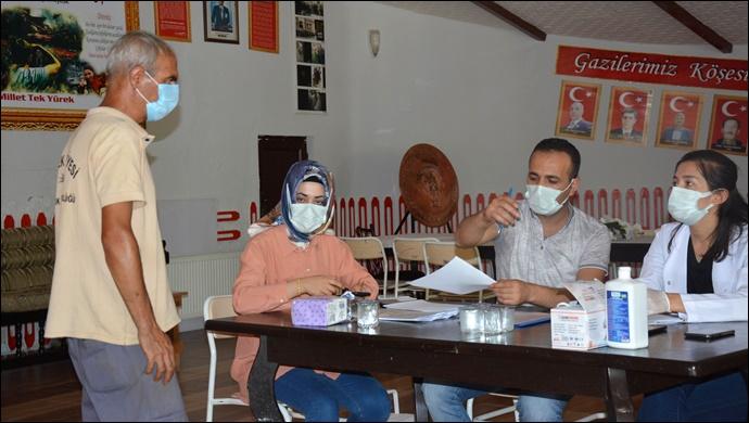 Siverek Belediyesinden aşılama kampanyasına destek