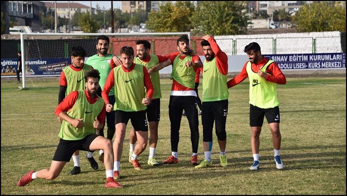 Siverek Belediyespor, Ankasspor hazırlıklarını sürdürüyor