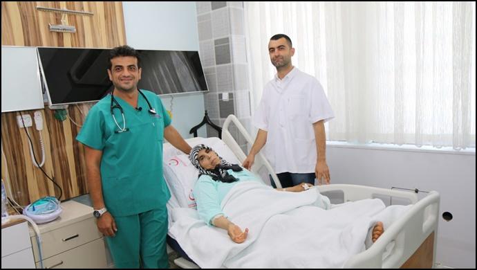 Siverek Devlet Hastanesinden Başarılı Operasyon