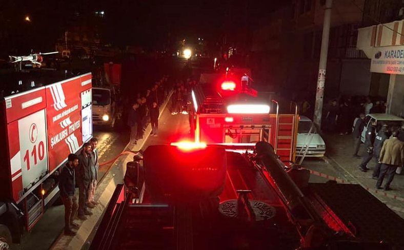 Siverek'te bir evin kundaklandığı iddia edildi