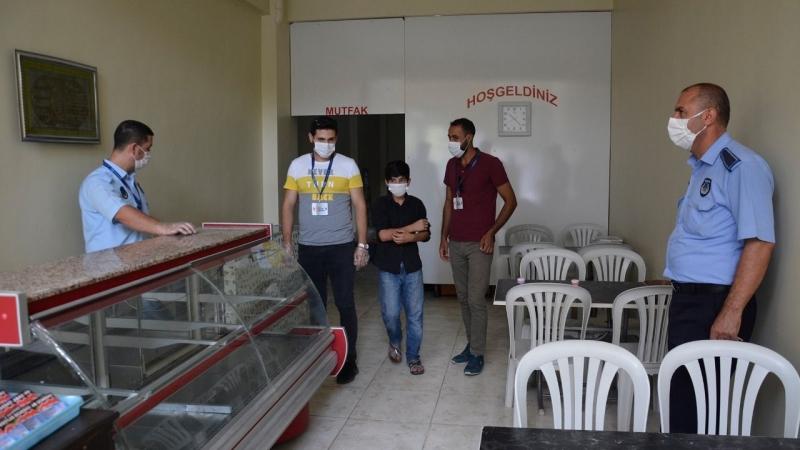 Siverek'te koronavirüs uyarı ve denetimleri sürüyor
