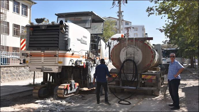 Siverek'teki cadde ve sokaklar yenileniyor