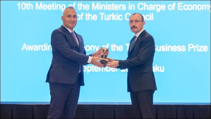 SOCAR Türkiye, 'Türk Konseyi Yatırım Ödülü' aldı