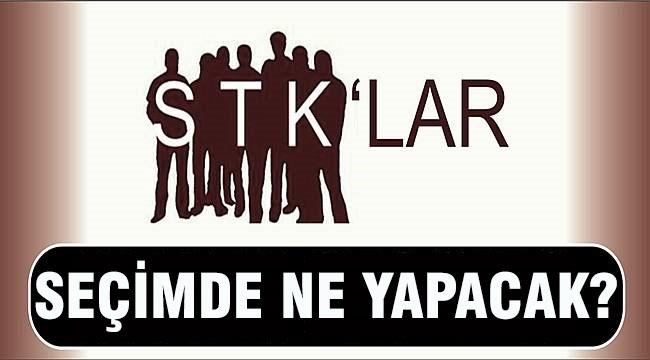 STK'lar Seçim Öncesi Vitrine Çıkıyor