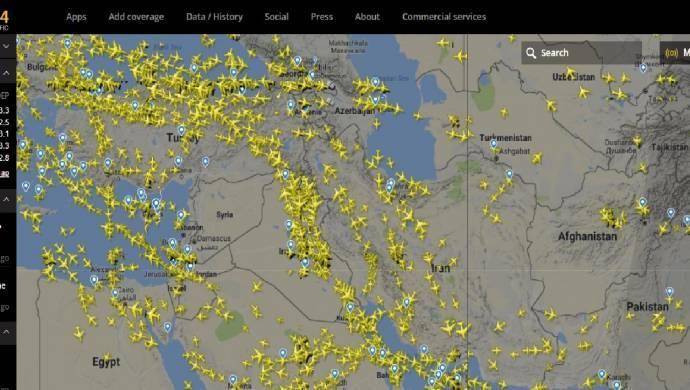 Suriye semalarında hava taşımacılığı tamamen durdu