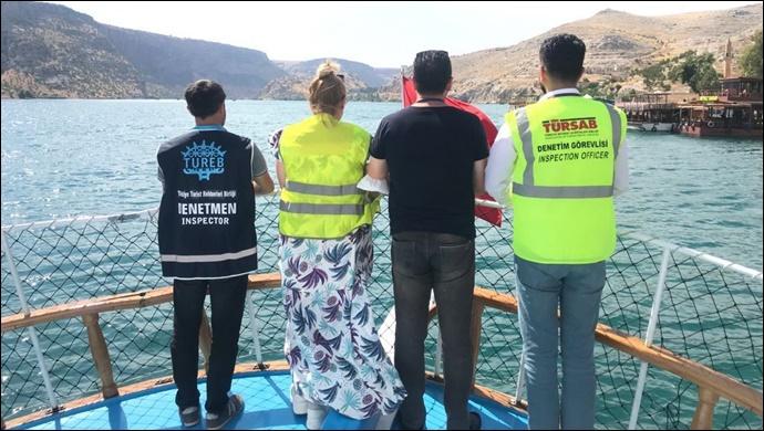ŞURO Güvenli Turizm için Denetimlerini Sürdürüyor