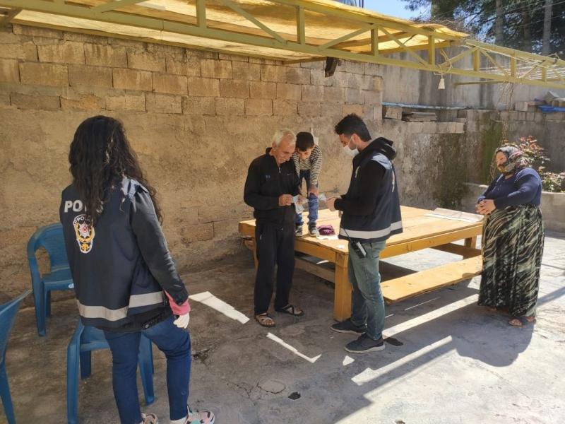 Suruç'ta Kıbrıs Gazisi Unutulmadı