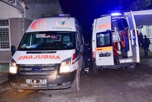 Suruç'ta Otomobil Şarampole Yuvarlandı: Çok Sayıda Yaralı Var