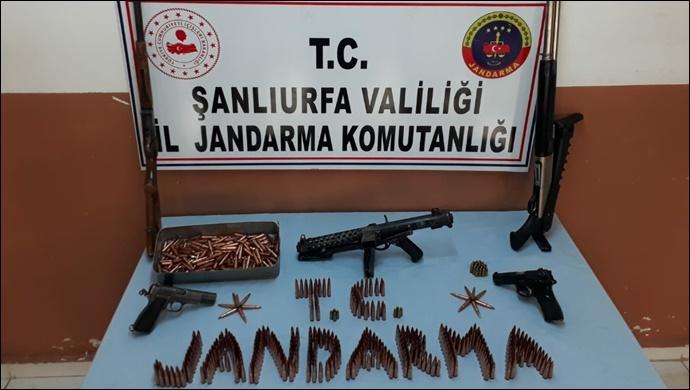 Suruç'ta Silah Kaçakçılığı Operasyonu