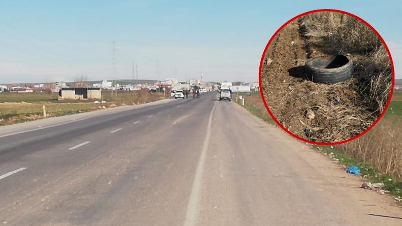 Suruç'ta Şüpheli Araç Lastiği İmha Edildi