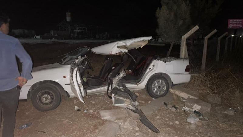 Suruç'ta Trafik Kazası 2 ölü 4 yaralı