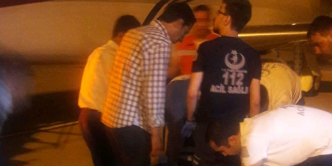Suruç'taki Yaralılar Ambulans Uçakla Ankara'ya Götürüldü