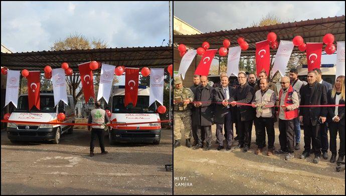 Talabyad'da 2 Ambulans Hizmet Verecek