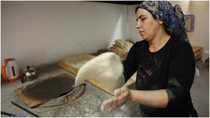 Tandır ekmeğinin lezzeti sınırları aştı