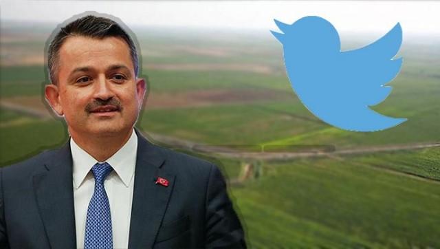 Tarım ve Orman Bakanı Pakdemirli'den Şanlıurfa paylaşımı