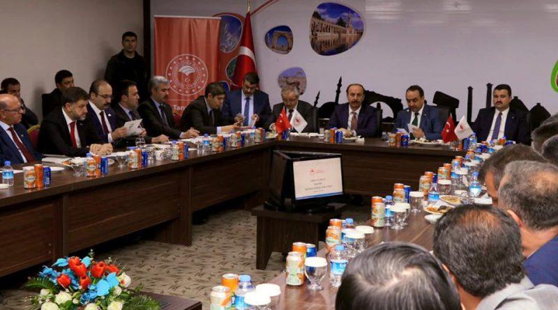 Tarım ve Orman sektörü Urfa'da ele alındı