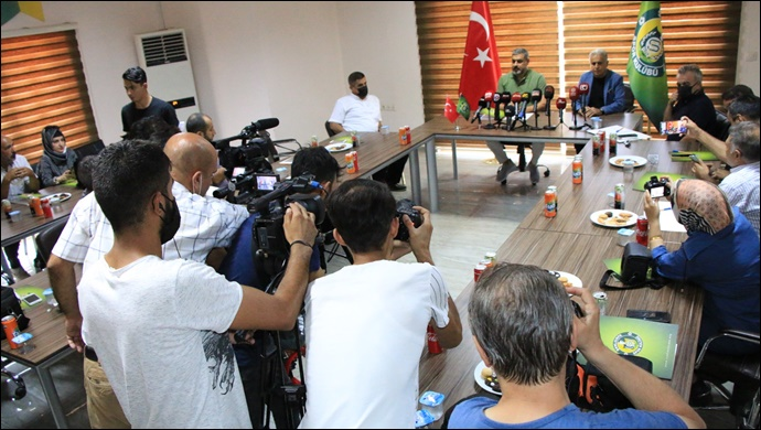 Teknik Direktör Kılıç, Gazetecilerle Buluştu