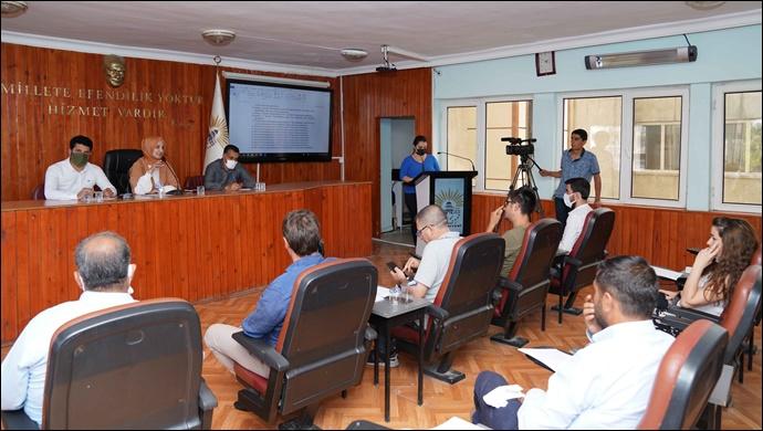 Temmuz ayı olağan meclis toplantısı tamamlandı