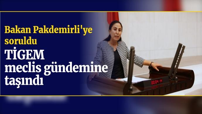 TİGEM meclis gündemine taşındı: Bakan Pakdemirli'ye soruldu