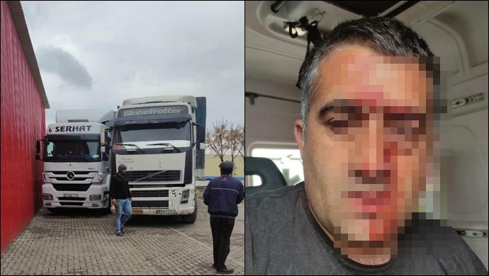 TIR şoförü Saraks Sınır Kapısı'nda darp edildi