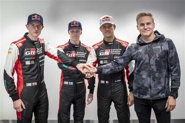 TOYOTA GAZOO Racing yeni kadrosuyla WRC dönemi için daha da güçleniyor