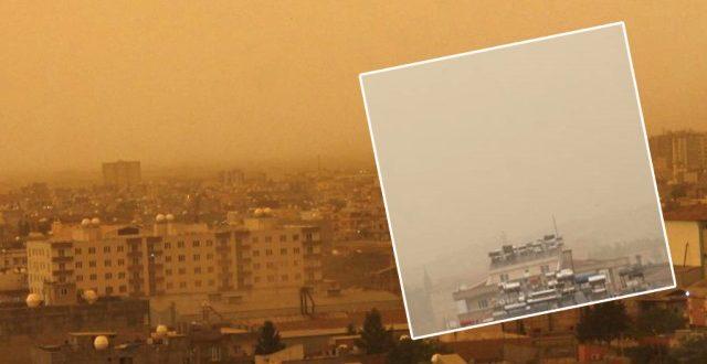 Toz Bulutu Urfa'yı Etkisi Altına Aldı