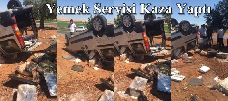Trafik kazası: 2 yaralı -(Videolu)