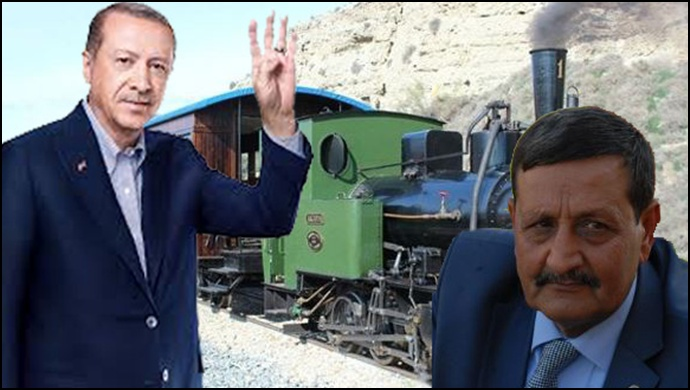Trenden indirilen Özyavuz: Trene beni alırlar !!! -(Videolu)