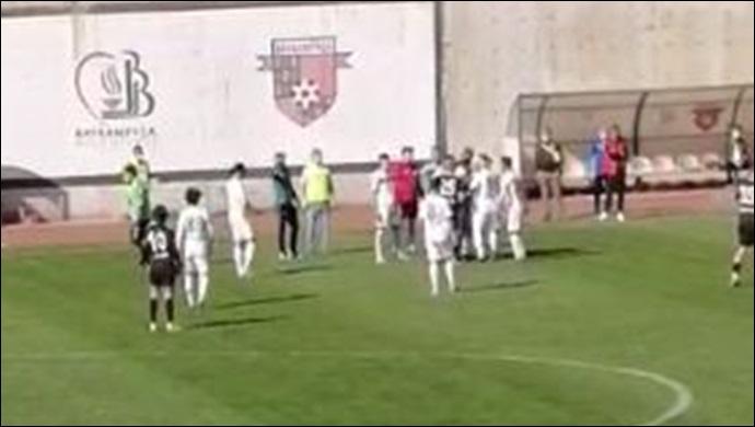 Türk futbolunda karanlık maç: Karaköprü Belediyespor-Bayrampaşa-(VİDEO)
