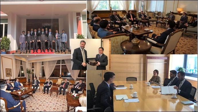 Türk HSK heyetinden Büyükelçi Önen'e ziyaret