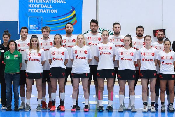 Türk Korfbol Milli Takımı Avrupa Şampiyonası'nda yarı final maçına çıkacak