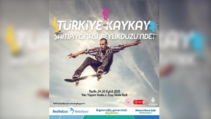 Türkiye Kaykay Şampiyonası Beylikdüzü'nde