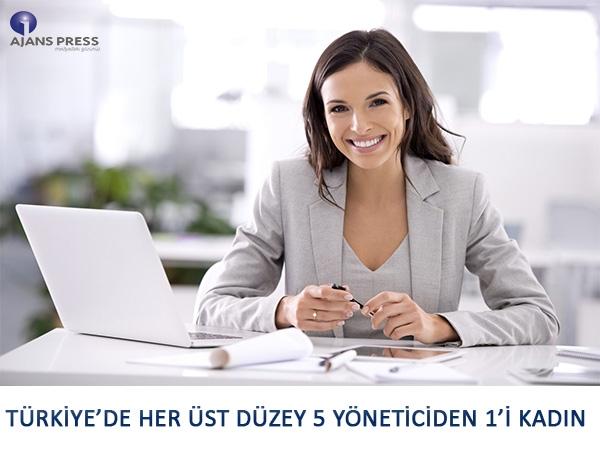 Türkiye'de Her Üst Düzey 5 Yöneticiden 1'i Kadın