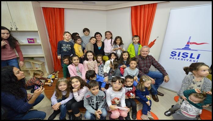 Türkiye'nin Üçüncü Oyun Kitaplığı Şişli' de Açıldı