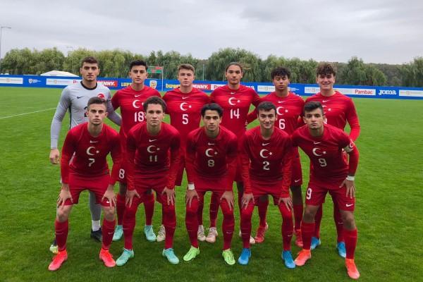 U-18 Milli Futbol Takımı, İspanya'ya yenildi
