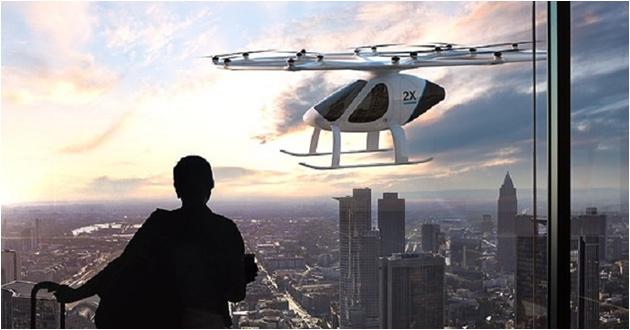 Uçan taksiler için tarih: 2022