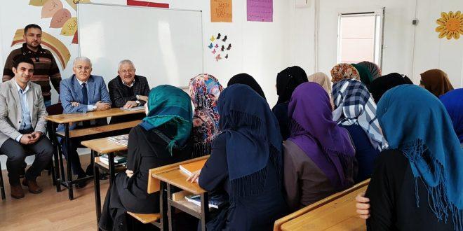 Üniversite Göç Merkezinden Harran Konteynirkent'e Ziyaret