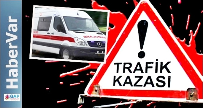 Urfa-Adıyaman Yolunda Kaza,6 Yaralı